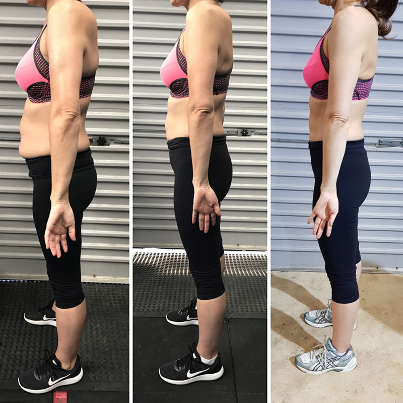 Bianca before and after fitness photos and weight loss journey
