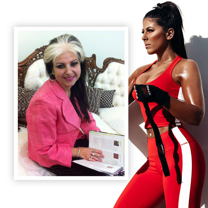 Shadi De Bartolo and Tina her mother share their personal fitness journey