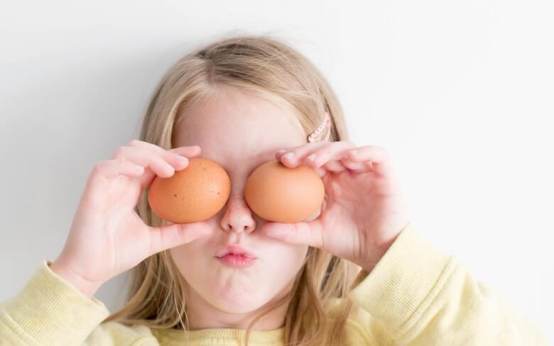 Eggs are great for kids as a source of essential vitamins and minerals